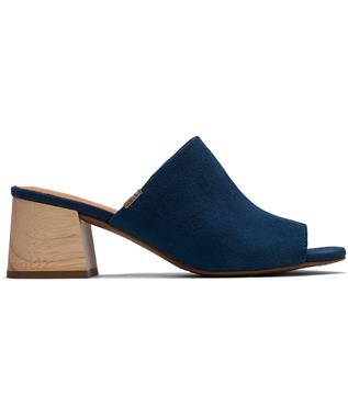 GRACE BLOCK HEEL MULE