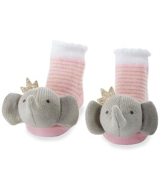 CROWNED ELEPHANT RATTLE SOCK