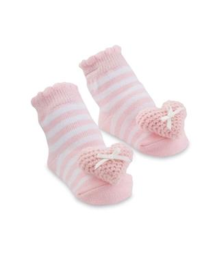 HEART RATTLE SOCK