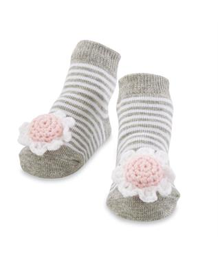 FLOWER RATTLE SOCK