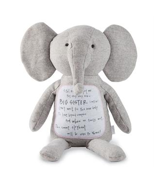 BIG SISTER ELEPHANT PLUSH TOY