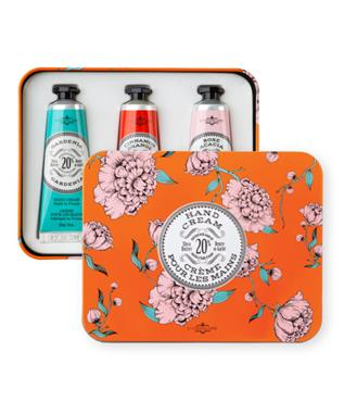 ORANGE HAND CREAM TRIO TIN