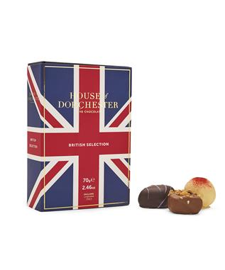 6 PC BRITISH TRUFFLES SELECTION