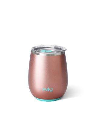 14 OZ STEMLESS CUP ROSE GOLD