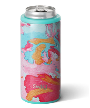 12 OZ SKINNY CAN COOLER COTTON CANDY