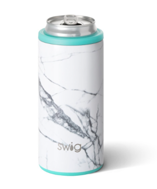 12 OZ SKINNY CAN COOLER MARBLE