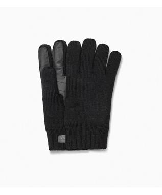 M KNIT GLOVE WITH PALM PATCH