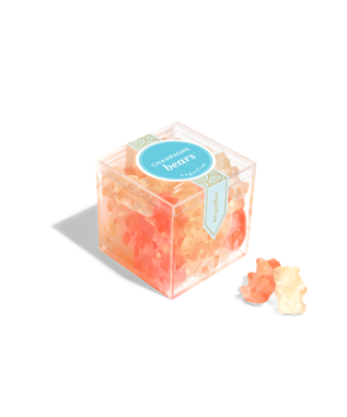 CHAMPANGE BEARS SMALL CANDY CUBE