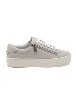 HARLING DOUBLE ZIPPER LACE UP SNEAKER