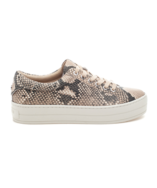 HIPPIE SNAKE PRINT LACE UP SNEAKER