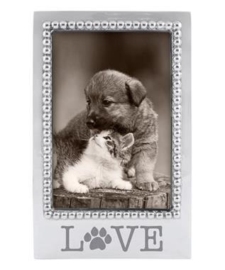 LOVE PAW PRINT 4 X 6 FRAME