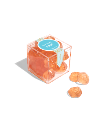 BUT FIRST ROSE-ROSES SMALL CANDY CUBE