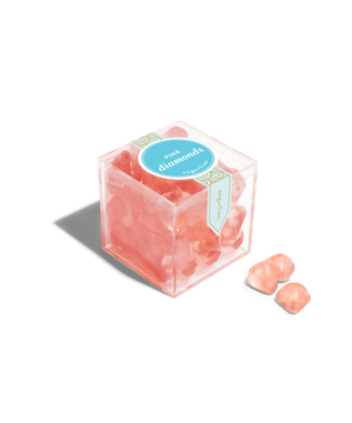 PINK DIAMONDS SMALL CANDY CUBE