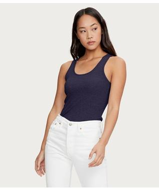 ULTRA RIB CHELSEA SLIM SCOOP NECK TANK