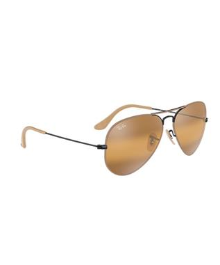 AVIATOR 3025 BLACK MATTE BEIGE
