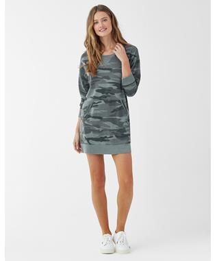 CAMO COURTSIDE DRESS