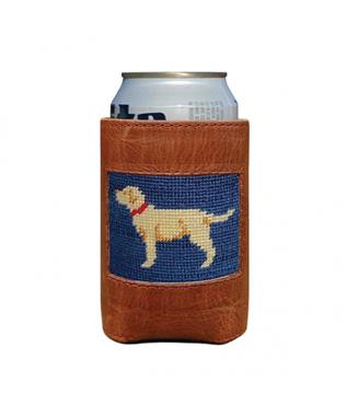 YELLOW LAB CAN COOLER