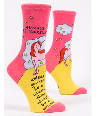 W ALWAYS BE A UNICORN SOCKS