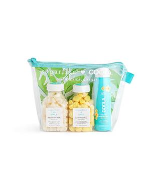 STAY TROPICAL 3-PC POUCH GIFT SET