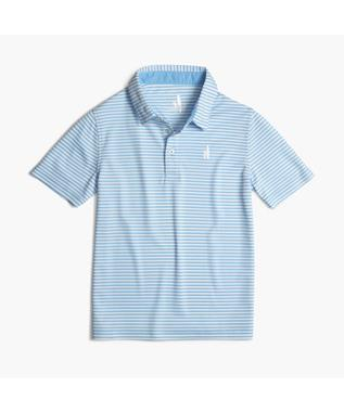 BUNKER STRIPED PREP-FORMANCE JR. POLO