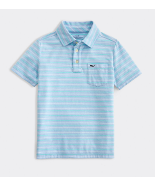 S/S STRIPE POLO