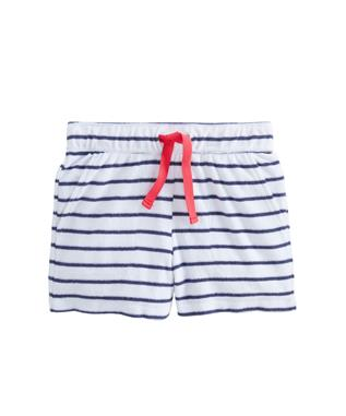 STRIPE PULL ON SHORT