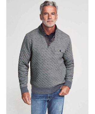 EPIC QUILTED FLEECE PULLOVER