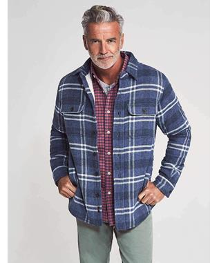 SHERPA LINED PLAID CPO