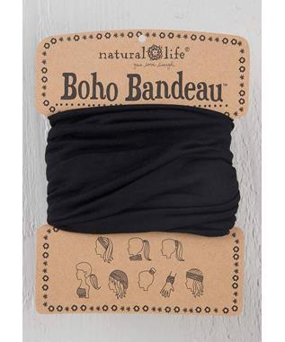Boho Bandeau Black