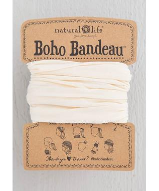 Boho Bandeau Solid Cream