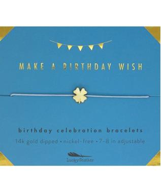 MAKE A BIRTHDAY WISH BRACELET