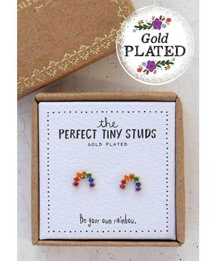 Rainbow Perfect Tiny Studs