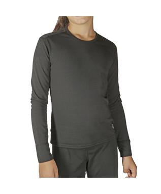 YOUTH MID WEIGHT SOLID CREWNECK