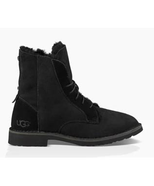 UGG QUINCY LACE UP FOLD DOWN BOOTIE