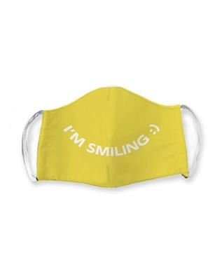 IM SMILING FACE MASK