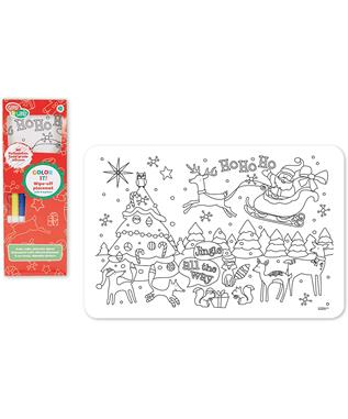 SILICONE PLACEMAT W/ MARKERS