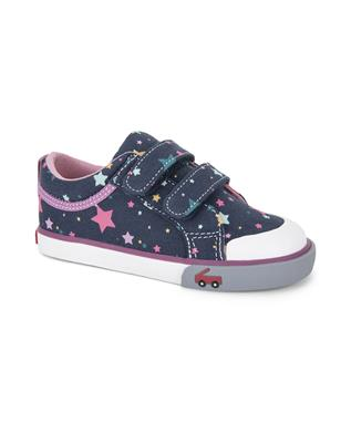 ROBYNE NAVY SNEAKER WITH STARS