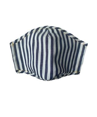 THICK BLUE STRIPE FACE MASK