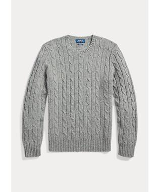 LS CABLE KNIT CASHMERE SWEATER