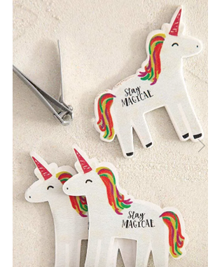 Unicorn Set of 3 Emery Boards