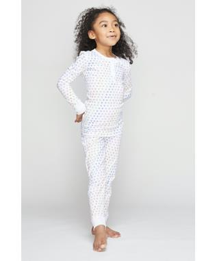 KIDS DISCO HEART PAJAMA SET