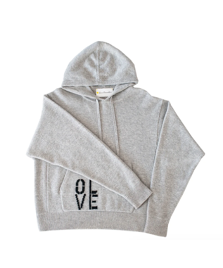 OLIVE CASHMERE HOODIE