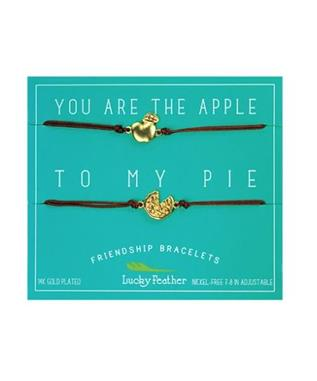 APPLE/PIE FRIENDSHIP BRACELET