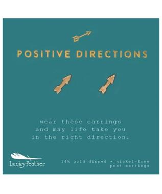 POSITIVE DIRECTION EARRINGS