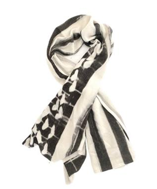 LOVE HAS NO COLOR CASHMERE SCARF