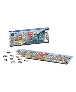 DOUBLE SIDED JIGSAW PUZZLE NEW YORK