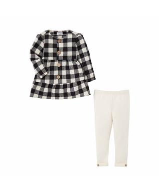 BUFFALO CHECK TUNIC SET
