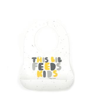 THIS BIB FEEDS KIDS BIB - NEUTRAL
