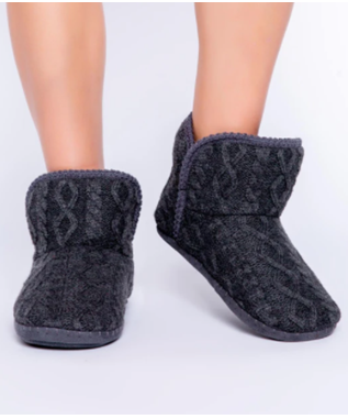 CABLE KNIT BOOTIE