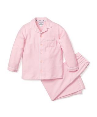 Pink Flannel Pajama Set